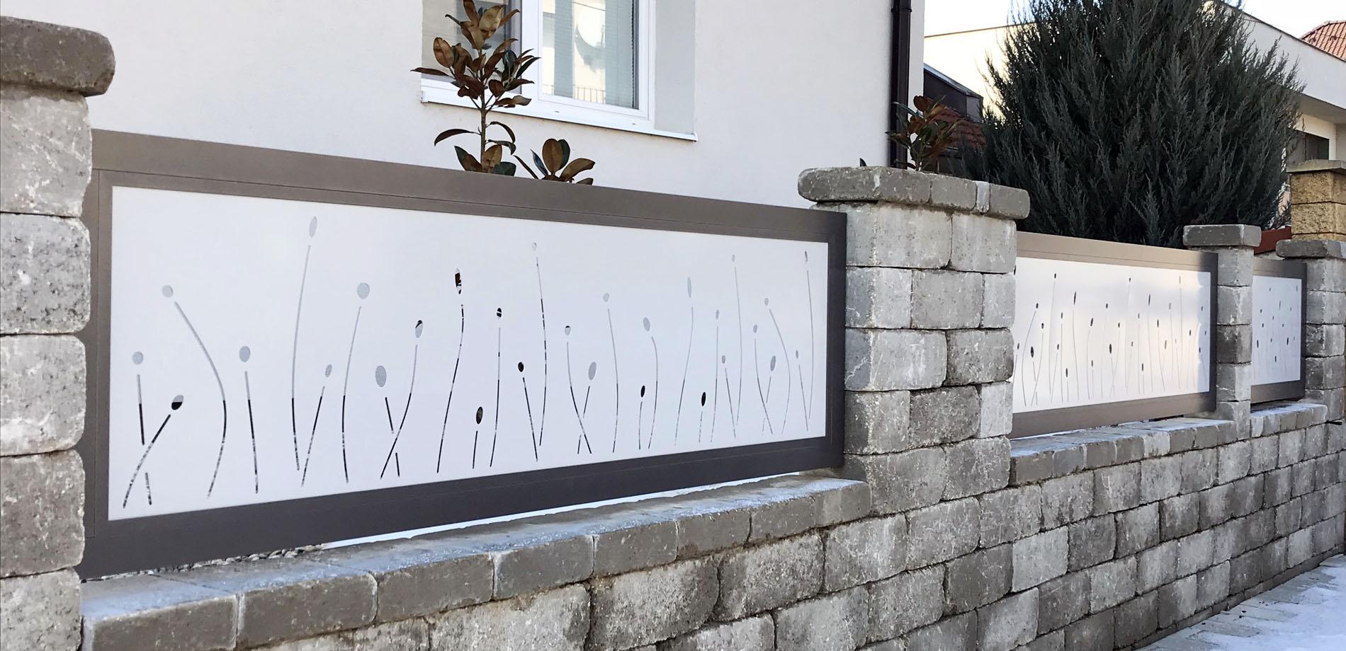 Hliníkový plot Malaga od výrobce ELMAR