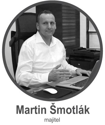 Martin Šmotlák- majitel firmy ELMAR